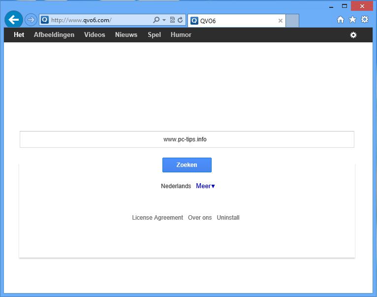 Schermafbeelding QVO6.com